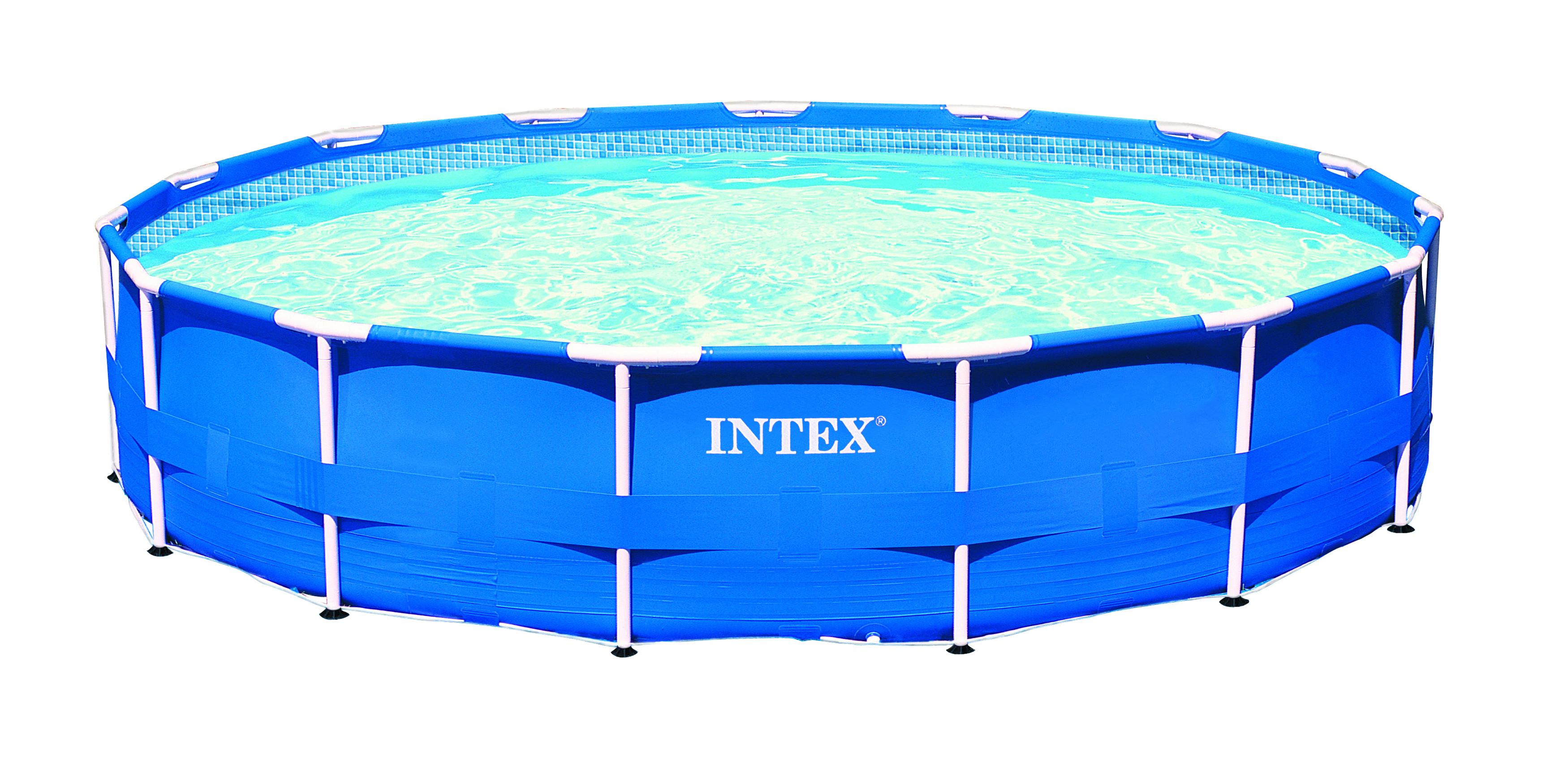 Intex metaal frame pool 457 x 91 cm set zwembadcenter for Intex zwembad verkooppunten