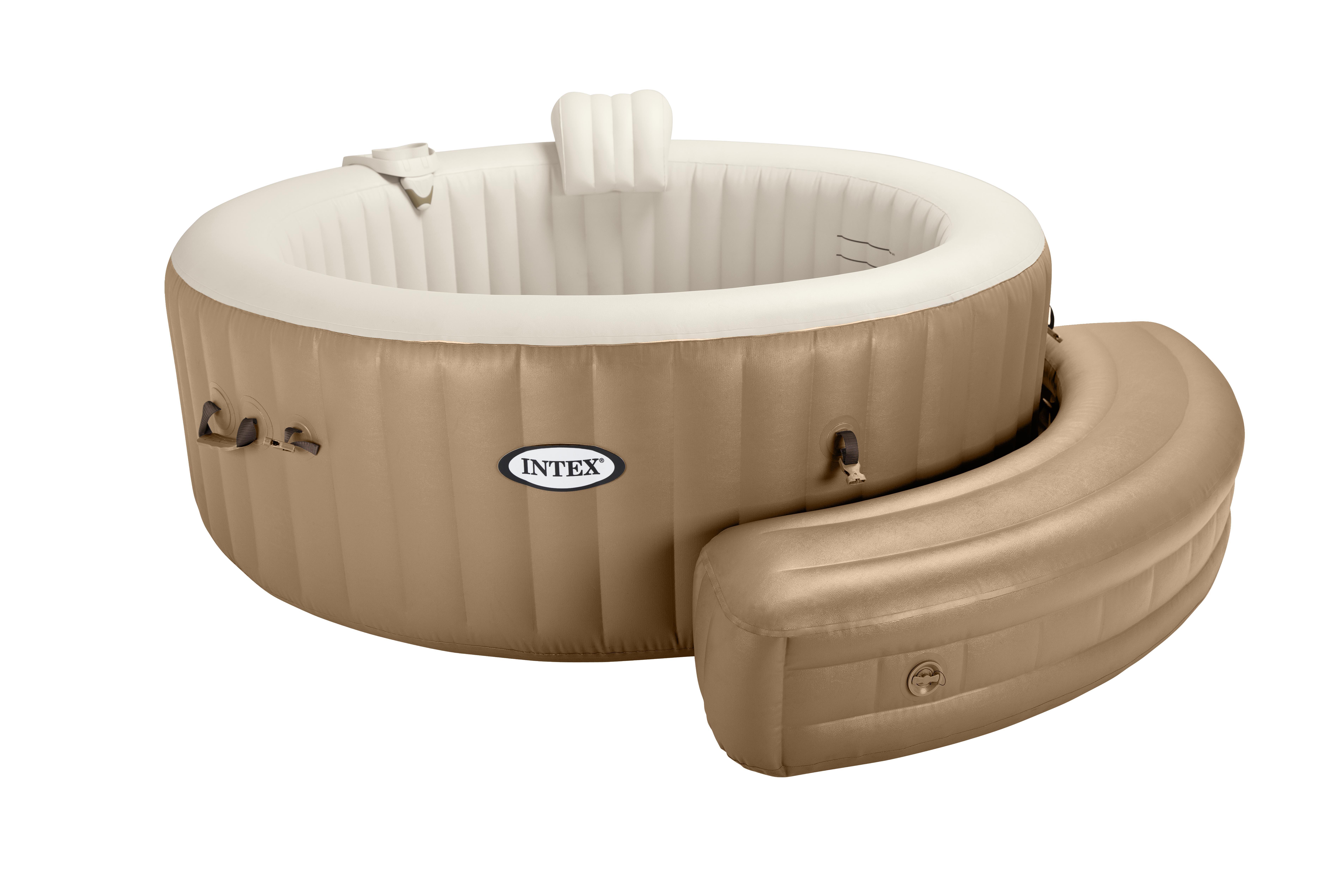 intex purespa bank beige zwembadcenter. Black Bedroom Furniture Sets. Home Design Ideas
