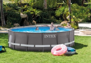 Intex Ultra Frame Pool 427x107 cm.