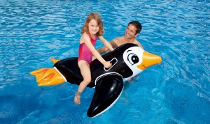 Intex  Pinguin Ride-On