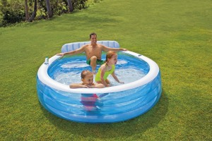 Intex Swim Center Family Lounge Pool met zitbank