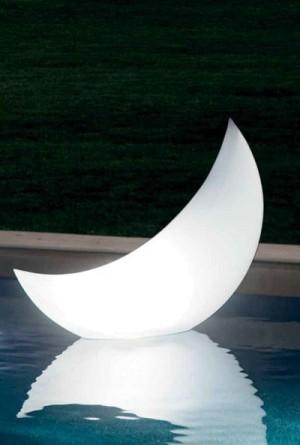 Intex Led Lamp halve maan