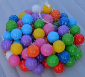 100 Ballenbakballen 10 kleuren