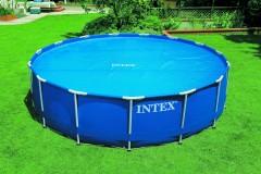 Intex solardeken voor de Metaal Frame Pool, Prism Pool, Utra Metaal Frame, Ultra XTR Frame of Easy Set van 549 cm.