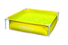 Intex Mini Frame Pool 122x122x30 cm GEEL
