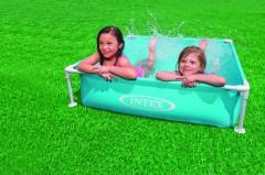 Intex Mini Frame Pool 122x122x30 cm BLAUW