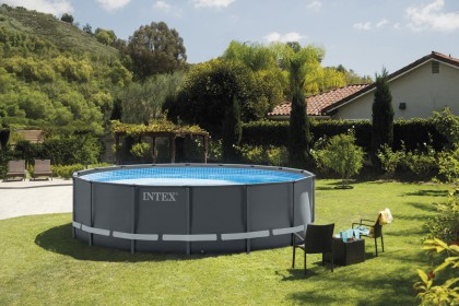 Intex Ultra XTR Frame Pool 488x122 cm. Set met zandfilterpomp
