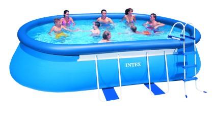 Intex Ovaal Frame Pool 549x305x107 cm