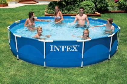 Intex Metaal Frame Pool 366x76 cm.