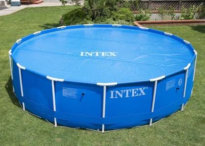 Intex solardeken voor de Prism,  Metaal Frame Pool of Easy Set van 366 cm.