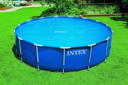 Intex solardeken voor de Ultra, Prism, Easy-Set of Metaal Frame Pool van 457 cm.