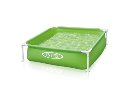 Intex Mini Frame Pool 122x122x30 cm Groen