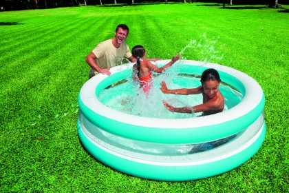 Intex Swim Center See Through Pool 203 cm.
