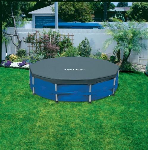 Intex Metaal Frame Pool Afdekkleed 366 cm.