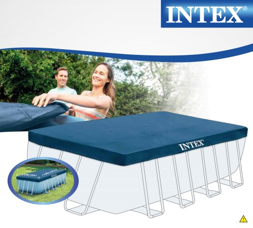 Intex Afdekkleed Rectangular 400x200 cm