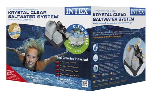 Intex Zoutwatersysteem