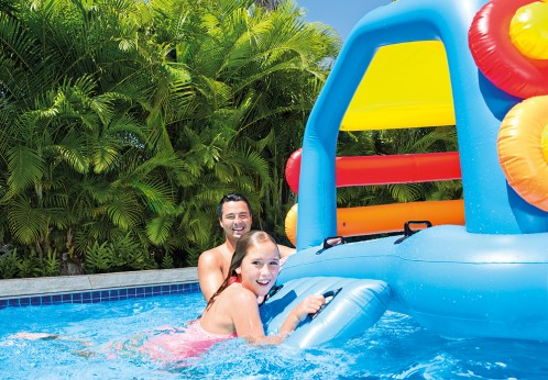 Intex Island With Slide