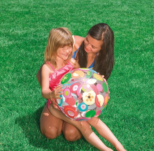 Intex Strandbal Lively Print Bal 51 cm.