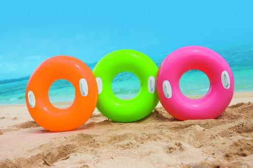 Intex Grote zwemband met handvaten Hi-Gloss Tube