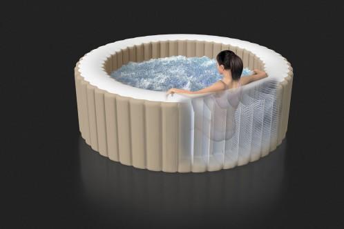 Intex Pure-Spa met bubbels