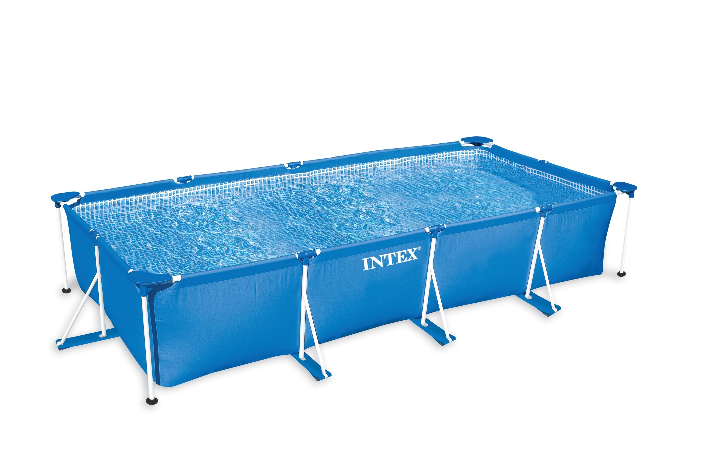 Intex rectangular frame 220x150x60 cm zwembadcenter for Rechthoekig zwembad