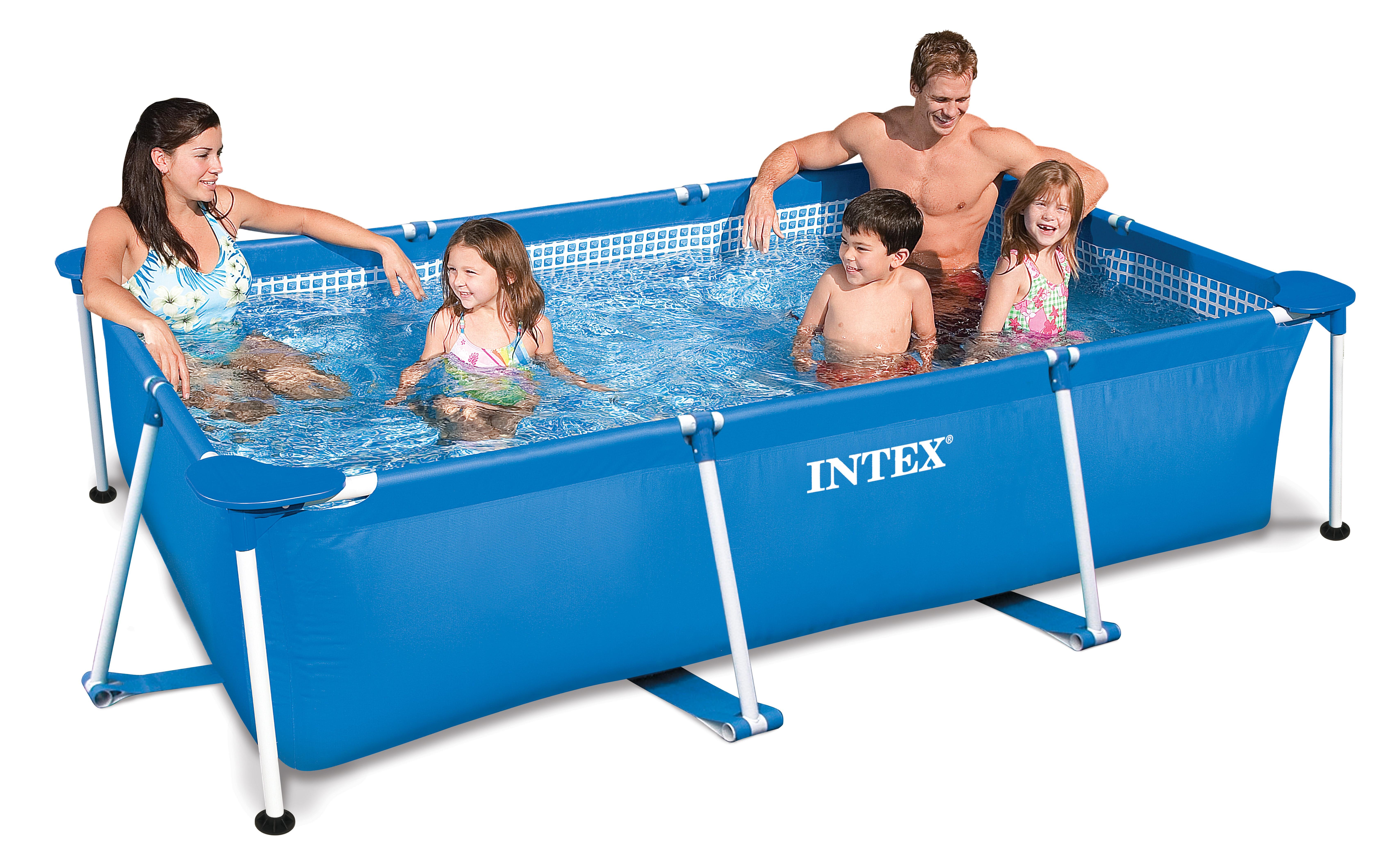 Intex rectangular frame 300x200x75 cm zwembadcenter for Intex zwembad verkooppunten