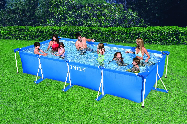 Intex rectangular frame 450x220x84 cm zwembadcenter for Intex zwembad verkooppunten