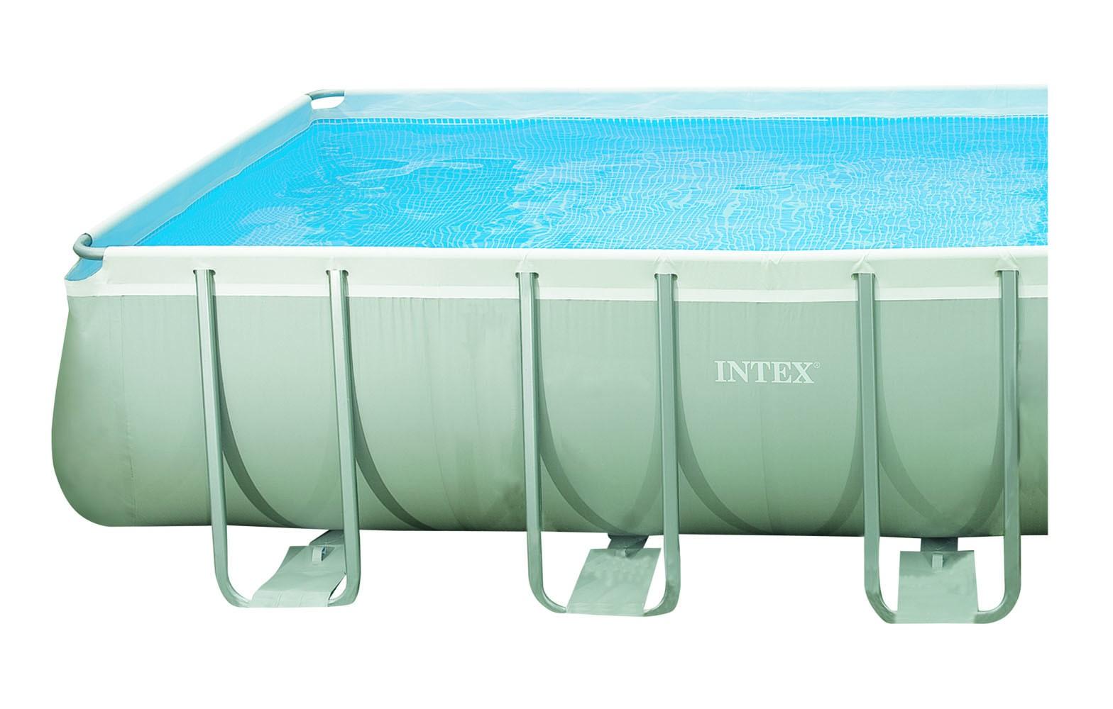 intex ultra rectangular 549x274x132 cm met zandfilter zwembadcenter. Black Bedroom Furniture Sets. Home Design Ideas