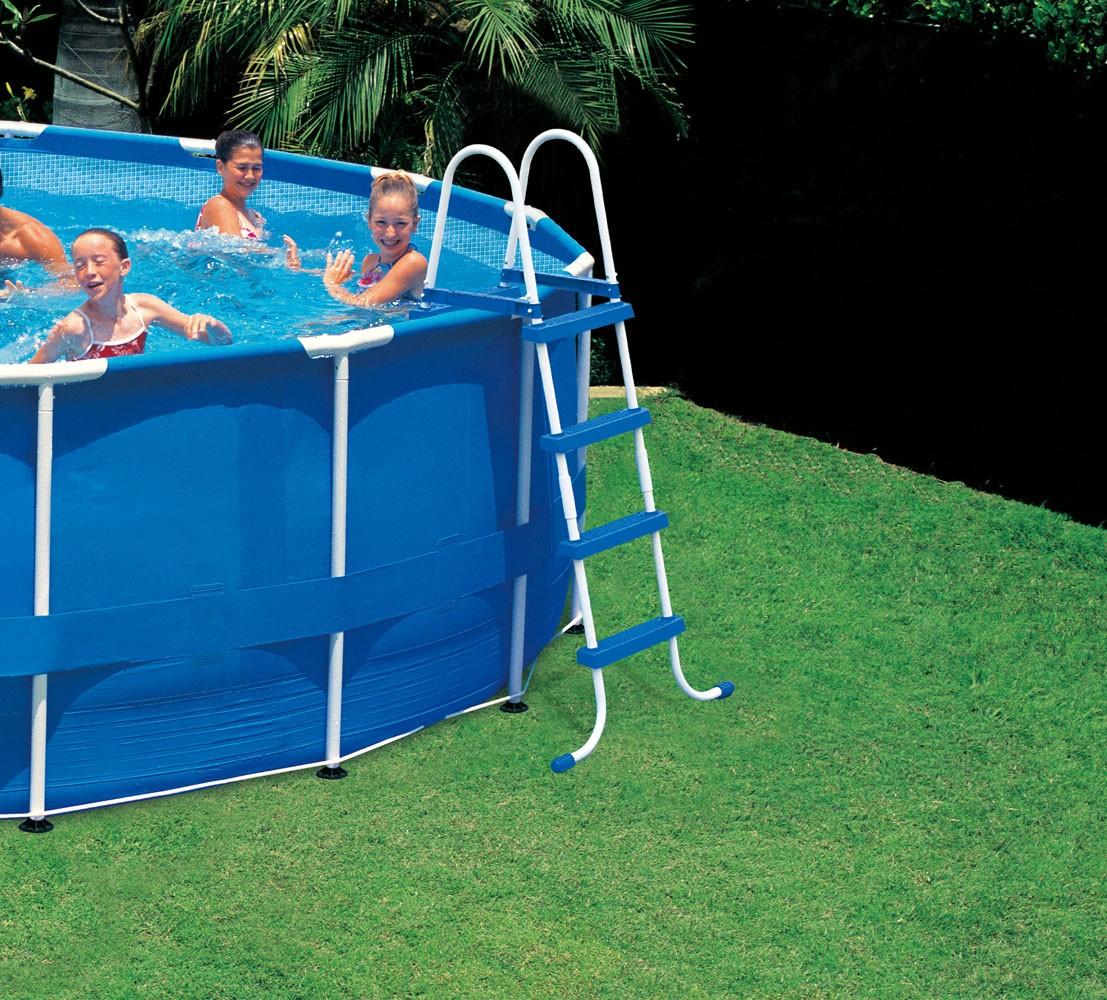 Intex Metaal Frame Pool 457 X 122 Cm Set Zwembadcenter